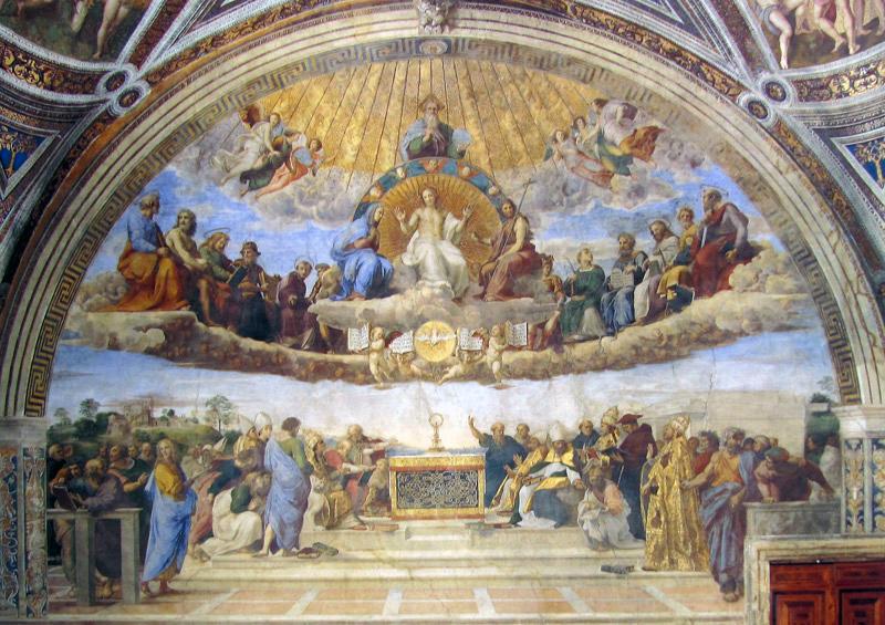 Musei vaticani le stanze di raffaello romainteractive for Disegni della stanza del fango