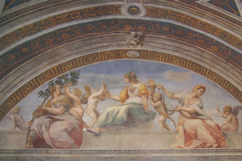 Stanza della segnatura roma interactive - Finestra che si apre sul lato superiore ...