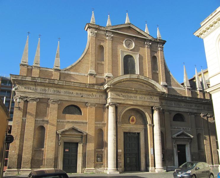 Risultati immagini per : Santa Cecilia, S. Maria dell'Orto, San Francesco a Ripa